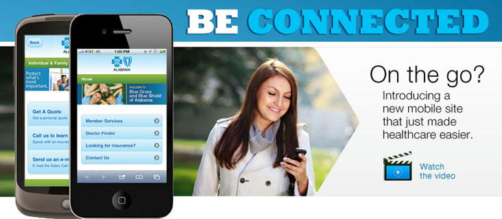 On the go? Introducing a new mobile site that just made healthcare easier. Watch the video >>