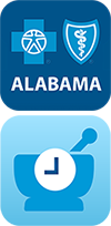 Alabama Blue and myRx Planner App Icons